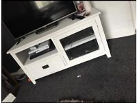 Solid oak tv stand paid £250 tried to shabby chic