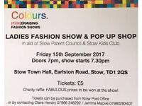 Ladies Fashion Show & Pop Up Shop - Stow Town Hall