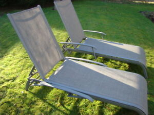 Two Quality Loungers $145 each