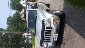 2002 Jeep Liberty Limited edition SUV, Crossover
