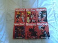 Hellsing manga (Volumes 1-6)