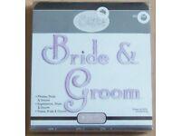 "Large Die suitable for Sizzix Type Die Cutting Machine - Sizzix "" Bride & Groom """