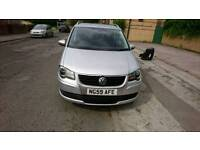 Volkswagen touran 1.9 match tdi 7 seater low mileage hpi clear
