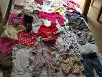 Massive bundle 6-9 month girls clothes
