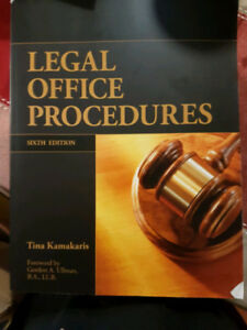 Legal Office Procedures (6th Ed.) and Workbook (6th Ed.)
