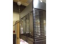 Stainless steel commercial fly zapper