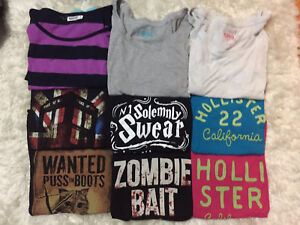 Assortment of Tshirts in Mint Condition
