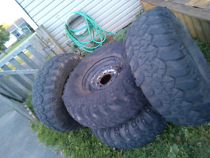 36x13.5x16.5 8 bolt chev/dodge rims