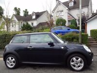 STUNNING! (2008) MINI COOPER NEW MODEL BLACK ONE OWNER/ONLY 40K MILES/FSH/FREE DELIVERY/MOT/TAX/FUEL