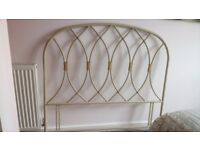 Standard double headboard for bed