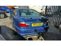 BMW E46 330ci CLUB SPORT BREAKING FOR PARTS