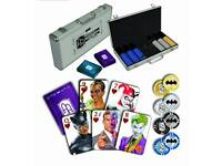 Batman DC limited Poker Set, as new.