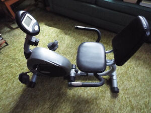 Recumbent Exercise Bike by Fitness Club, LIKE NEW
