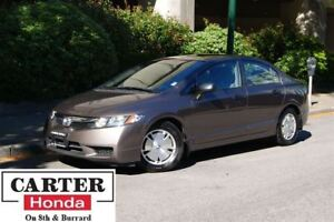 2009 Honda Civic DX-G + LOW KMS + A/C + ALLOYS + ACCIDENT FREE!