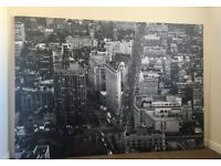 Canvas picture of flat iron building new york