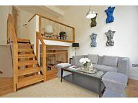 Two bedroom split level maisonette on Peckham Rye,