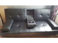 Cinema style sofa bed
