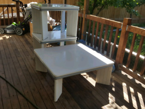 Solid Wood/Porcelain Coffee Tables Set of 3