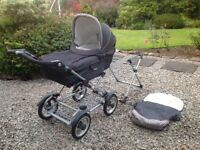Silver Cross Pram System Pram,Pushchair,Carrycot+Cosytoe Mint Condition