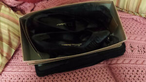 Black Leather Thomas Wallace Pumps