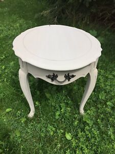 Gorgeous French provincial side table