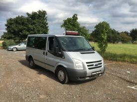 FORD TRANSIT 2.2 TDCi 280 S Tourneo Trend Low Roof Bus 5dr (9 Seat, SWB) (silver) 2012