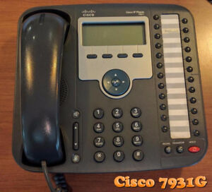 Cisco 7931 IP Phone with 24 lines and PoE