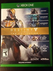 Destiny XBOX ONE Collection Edition