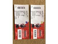 Pair of challenge cup final tickets
