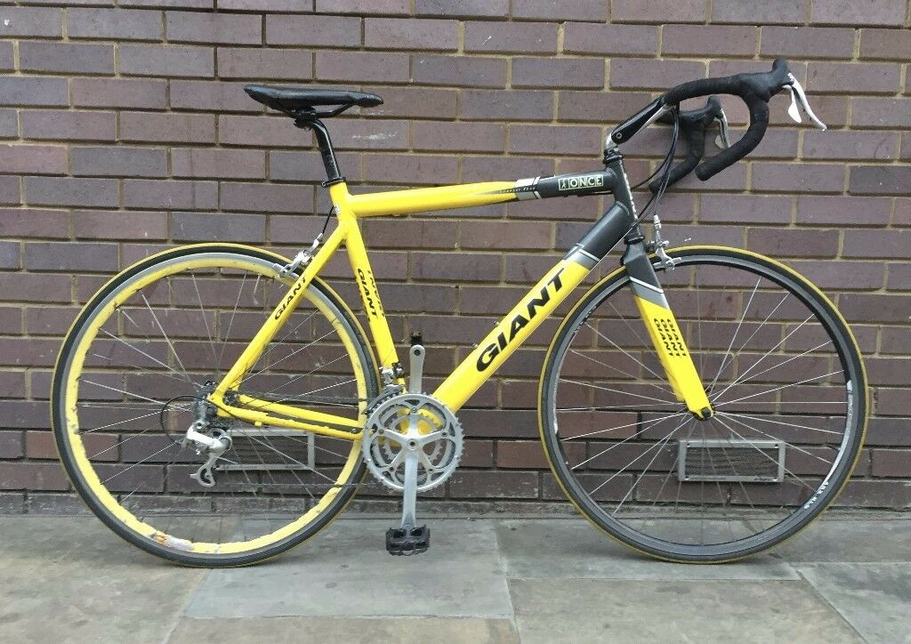 Giant Tcr Once Team Replica Road Bicycle 55 5cm In