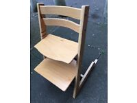 Authentic Tripp Trapp High Chair - excellent condition