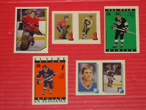 Hockey Stickers lot x 46. 1982-89 OPC/Topps. Roy Rookie ++