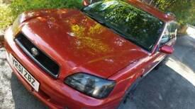 Subaru legacy 2ltr none turbo