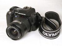 Olympus E-500 DLSR 14-45mm