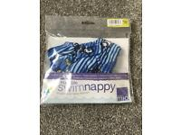 New Bambino Mio reusable swim nappy Medium 7-9kg (16-21lbs)