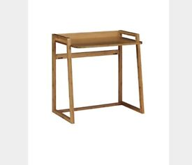 MARKS AND SPENCER DESK AND FOLDING CHAIR