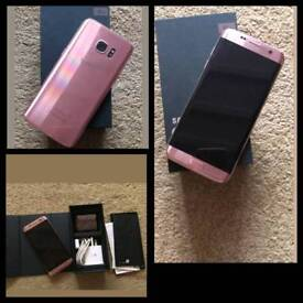 Samsung galaxy s7 edge rose gold ee