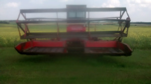 Swather and older farm equipment