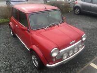 Classic Mini Cooper 1275i Red