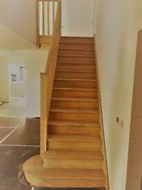 CARPENTRY AND JOINERY WOODEN STAIRCASE TIMBER SASH WINDOWS AND CASEMENT WINDOWS HARDWOOD STAIRCASE