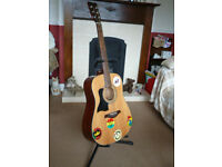 Tanglewood TW28-ST-NS-LH LEFT HANDED Acoustic Guitar. Total Bargain £40 No Offers Full Details In Ad