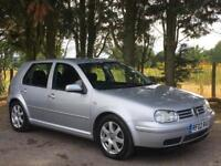 VW VOLKSWAGEN GOLF 2.8 V6 4MOTION PETROL [204BHP] 5DR HATCHBACK 2002 [02] SILVER
