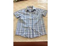 Boys smart casual short sleeved shirt Age 12