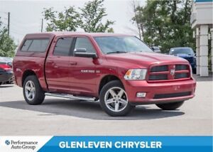 2012 Ram 1500 Sport | 4X4 | BLUETOOTH | HITCH | CAP INCLUDED