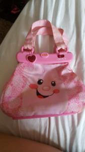 Talking purse