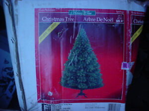 7 Foot artificial tree Christmas lights Live tree stands