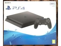 Playstation 4 500gb brand new sealed in box woth extras