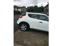 Nissan Juke for sale in white