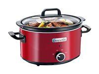 Crock-Pot SCV400RD060 3.5L Slow Cooker-red