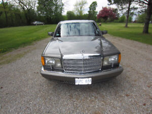 1987 420 SEL Mercades Benz Mint Condition